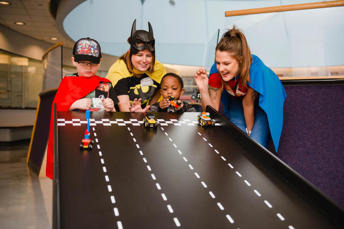LEGO Systems, Inc. brings joy to our patients