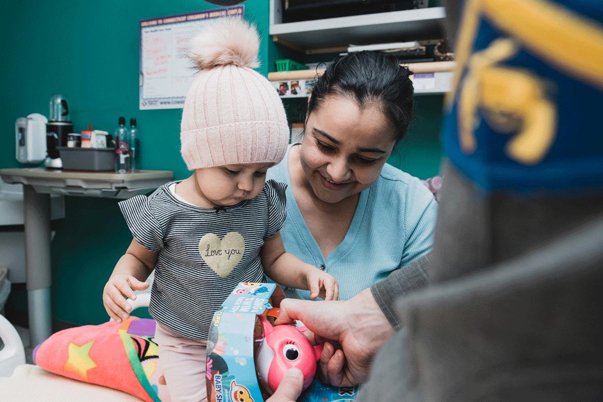 Generous donations help fuel smiles year-round.