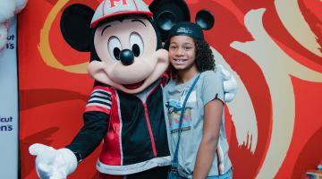 Disney Team of Heroes visit in 2019